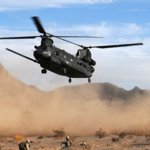 Multi National Force – West sees the last of the CH-47 Chinook