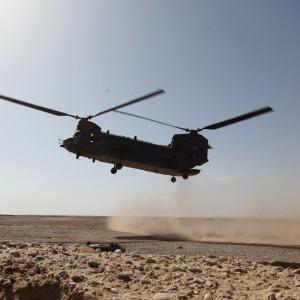 Landing zone study improves efficiency at patrol bases