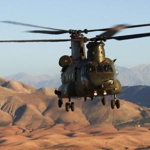 Vector celebrates 35th year servicing Chinooks in UK