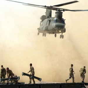 RAF Chinook Pilot Honoured for Courage