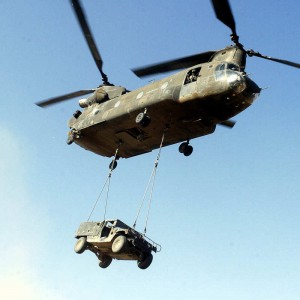 Boeing's Chinook Modification Center runs on schedule