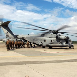 Japan wants to stop US CH-53E ops indefinitely
