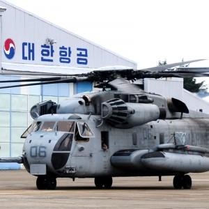 Korean Air extends USMC H-53 APAC maintenance contract