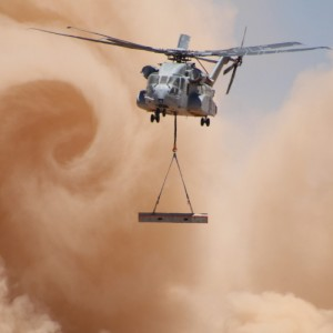 CH-53K tests its power at US Army Yuma Proving Ground