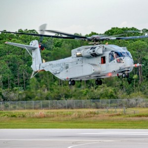 First flight of Sikorsky CH-53K