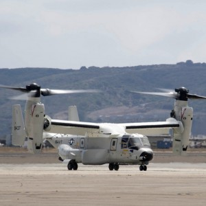 First CMV-22B for operational use arrives at NAS North Island