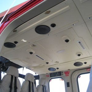 Dart launches lightweight interior ceiling panels for AW139