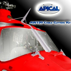 Brazil approves Apical's cable cutters for AW139