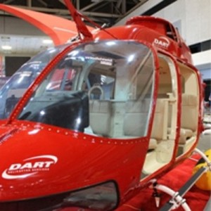 Dart announces TC approval for screw-in windshield Kit for Bell 206 series