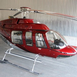 """FAA, EASA approves Dart Quick Release Heli-Access-Stepâ""""¢ for the Bell 206L/407"""