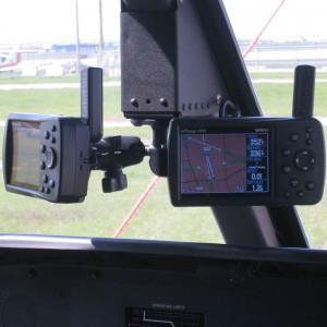 Dart GPS Receiver Gimbal Mount now compatible with Garmin GPSMAP on Medium Bell aircraft