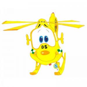Dorset and Somerset Air Ambulance names cartoon character