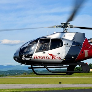 Wysong completes Hospital Wing's first Eurocopter EC130