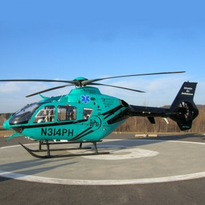 Atlantic Air marks five years and introduces second EC135