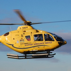 Glasgow Heliport moves a mile and a half