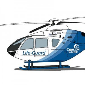 Carilion Clinic adds third helicopter – an EC135 with Med-Trans