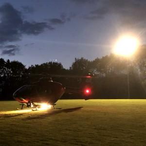 Devon Air Ambulance adds 150th community helipad