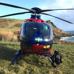 Devon Air Ambulance reports 2018 as busiest year yet