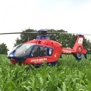 Devon Air Ambulance flies 1101 missions in 2020
