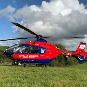 Devon Air Ambulance resumes air operations