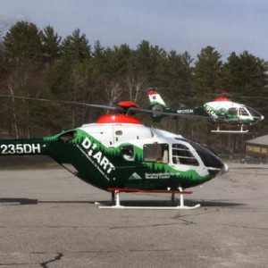 EMS EC135 makes precautionary landing at Boston Logan Airport