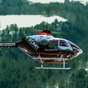 NEHC honours DHART air ambulance service