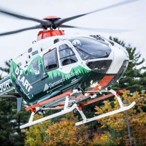 Dartmouth-Hitchcock Advanced Response Team orders an H135