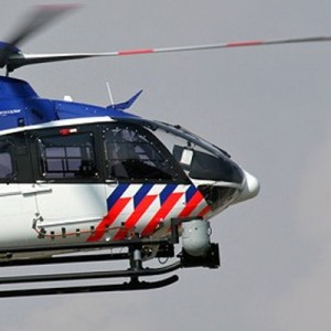 First two new Dutch Police helicopters landed at Amsterdam's Schiphol Airport today