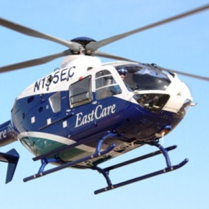 American Eurocopter delivers 2 EC145s and an EC135P2+ to EastCare in NC