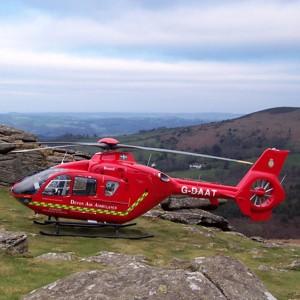 North Devon air ambulance base is taking shape