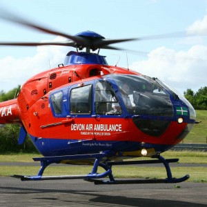 Devon Air Ambulance helps launch Master's Degree course for Paramedic air crew