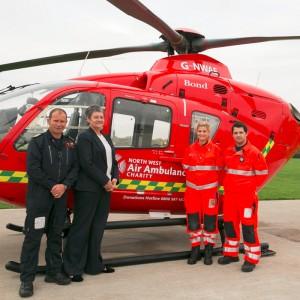 Bond Air Services begins new air ambulance service in Merseyside