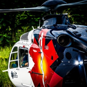 Hawaii Life Flight EC135 forced to move away from hospital helipad