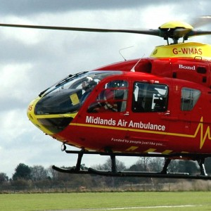 Midlands Air Ambulance seeks past patients for 20th anniversary plans