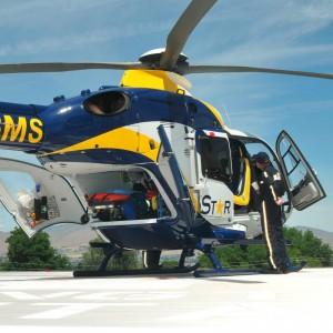 Northwest MedStar receives third EC135