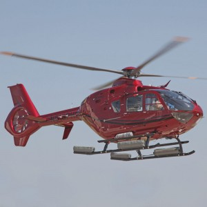 First WAAS EC135 in US delivered to Paradigm Helicopters