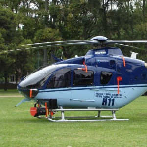 Eurocopter delivers second EC135T2+ to Argentina's Federal Police