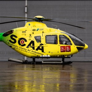 Scotland's Charity Air Ambulance receives £200K donation