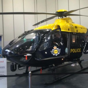 Bond hand over first of seven upgraded EC135s to NPAS