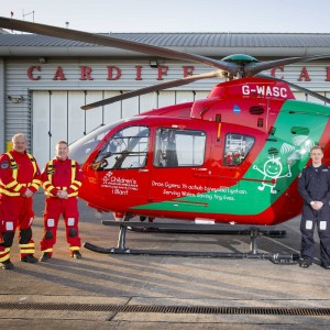 Wales Air Ambulance takes over Cardiff HP lease