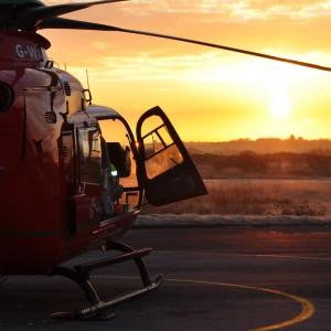Wales Air Ambulance makes historic first night flight