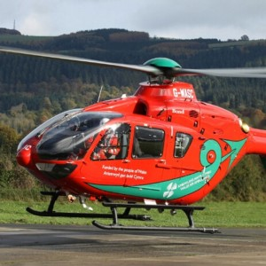New Wales Air Ambulance HQ under construction in Llanelli