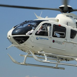 Eurocopter's takes an EC135 to Japan Aerospace 2012