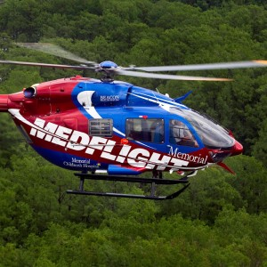Metro Aviation delivers EC145 to Memorial Hospital