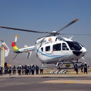 Bolivian Air Force orders two more EC145s