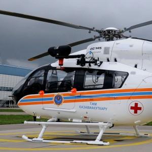 Ukraine close to deal for five Kazak-built EC145s