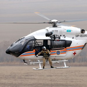 Bird Aerosystems to display special mission system on Kazak EC145