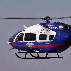 Namibia Police Air Wing takes delivery of EC145