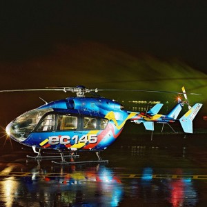 Onboard Systems EC145 Suspension System approved by Eurocopter