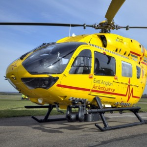 Ferrari Donated to East Anglia Air Ambulance